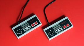 nintendo NES controllers