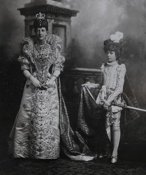 louvima knollys and queen alexandra