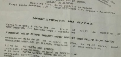Zinedine Yazid Zidane Thierry Hanry Bapthez Eric Felipe