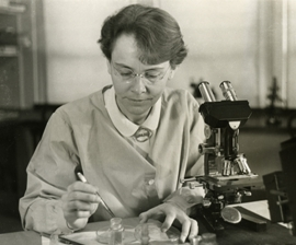 Barbara McClintock in 1947