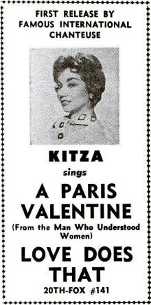 kitza kazacos, 1959, baby name