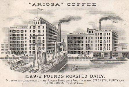arbuckles coffee, ariosa, advertisement,