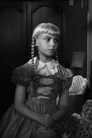 patty mccormack, rhoda penmark, bad seed, 1956
