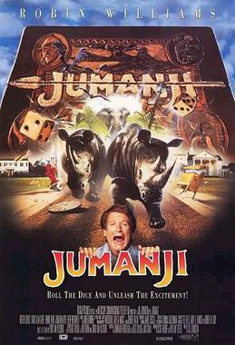jumanji, baby name, 1990s, movie