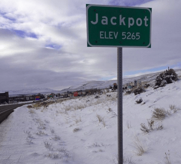 jackpot, idaho, place name