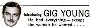 gig young, 1940s, name