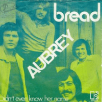 aubrey, song, baby name, 1970s,
