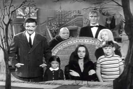 addams family, television, 1960s, baby names