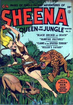 sheena, queen of the jungle, comic, 1940s, baby name