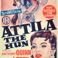 attila, movie, baby name, 1950s,