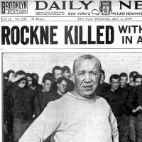 rockne, news, baby name, 1930s