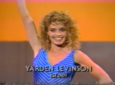 Yarden Levinson, The Most Beautiful Girl in the World, beauty pageant, 1984