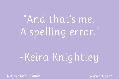 Keira Knightley quote