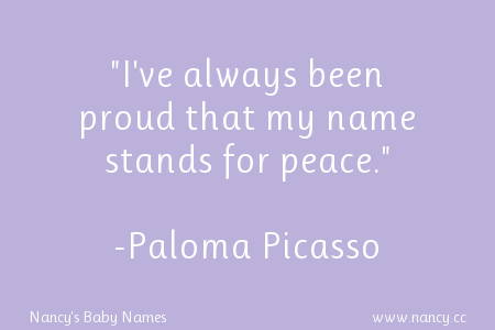 Paloma Picasso quote