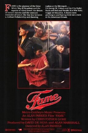 Fame (1980) movie poster
