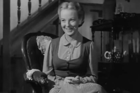 """Bronwyn (Anna Lee) in the 1941 film """"How Green Was My Valley."""""""