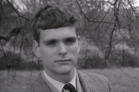 """Actor Keir Dullea in the movie """"David and Lisa"""" (1962)."""
