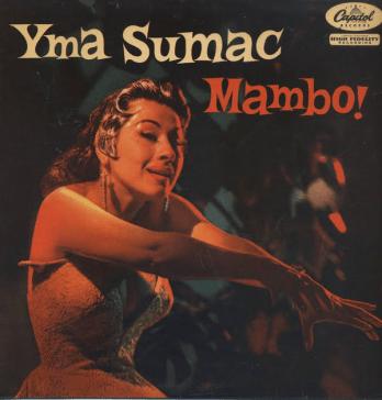 """Yma Sumac album """"Mambo!"""" (1954)"""
