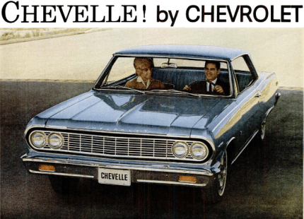 chevelle, car, baby name, 1960s