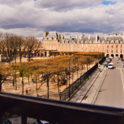 View from Victor Hugo's apartment in Paris, 2006.