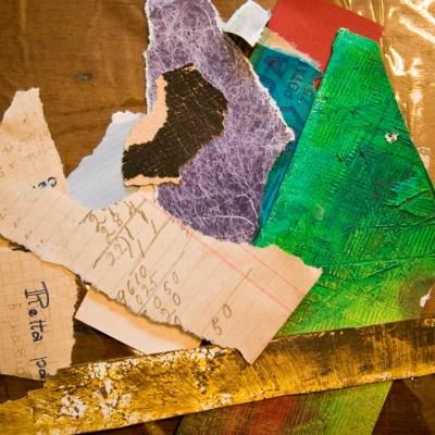 I love my paper scraps!