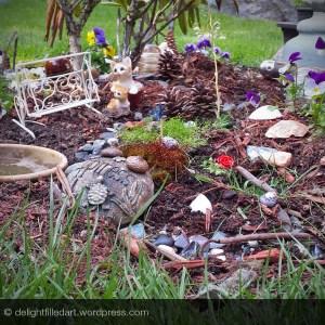 04 - kitty fairy garden