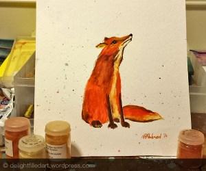 fox painting 2
