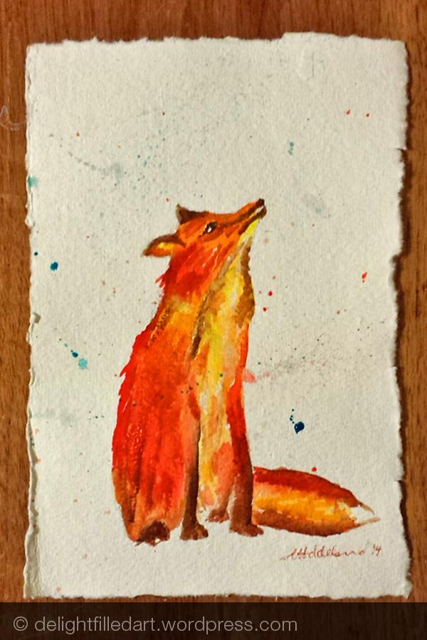 Woodland nursery part 3: Fox and Fawn