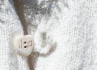 handspun handknit cashmere vest detail