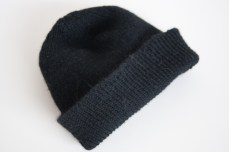 black watch cap knitting pattern