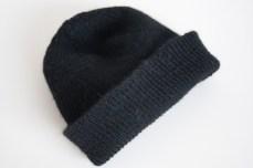 black watch cap knitting pattern
