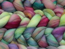 Malabrigo Nube Merino Wool Roving 866 Arco Iris