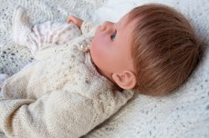 hand knit baby sweater-8708