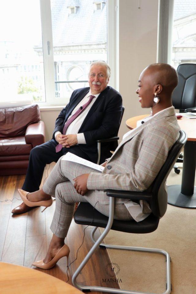 André Flahaut et Nancy Kawaya