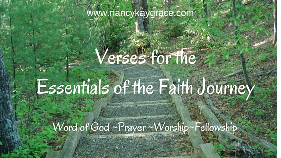 Verses for the Essentials of the Faith Journey
