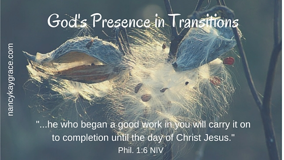 God's Presence in Transitions