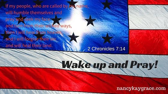 Wake Up and pray
