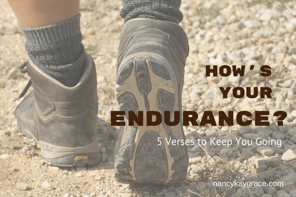 How's Your Endurance?