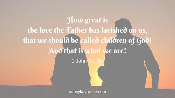 Father verse 1 John 3:1
