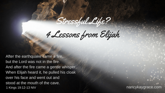 Stressful Life? 4 Lessons from Elijah