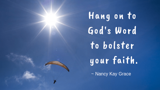 Random thoughts -hang on to God's Word