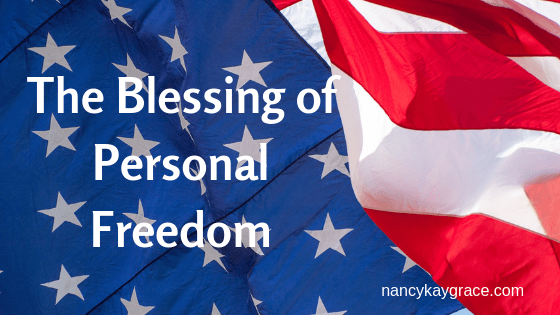 blessing of personal freedom