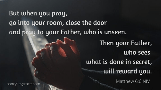 Lent prayer verse