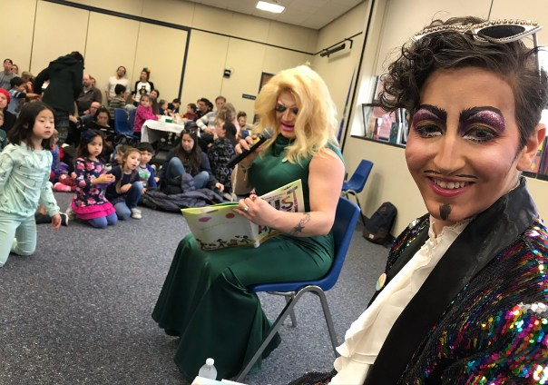 Image result for drag queen story timenorwalk public library""