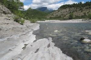 water slijt de rots