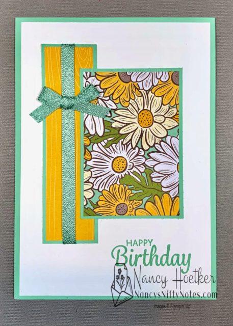 Stampin' Up! Ornate Garden 6 x 6 One Sheet Wonder Cards 2