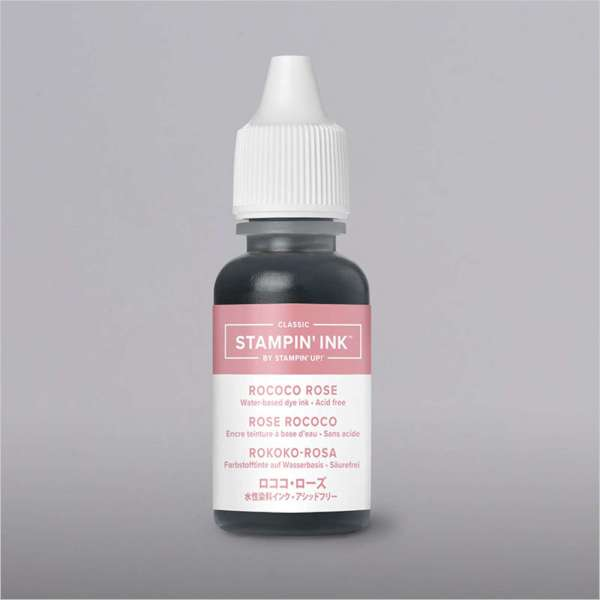 Rococo Rose Ink Pad and Refill 2