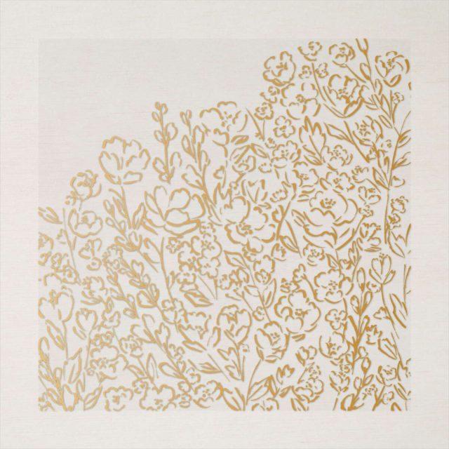 Fine Art Floral and Golden Garden Acetate Cards 4