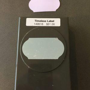 Timeless label 1
