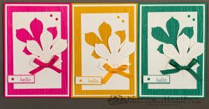 2020-2022 In Colors Love of Leaves Cards 1
